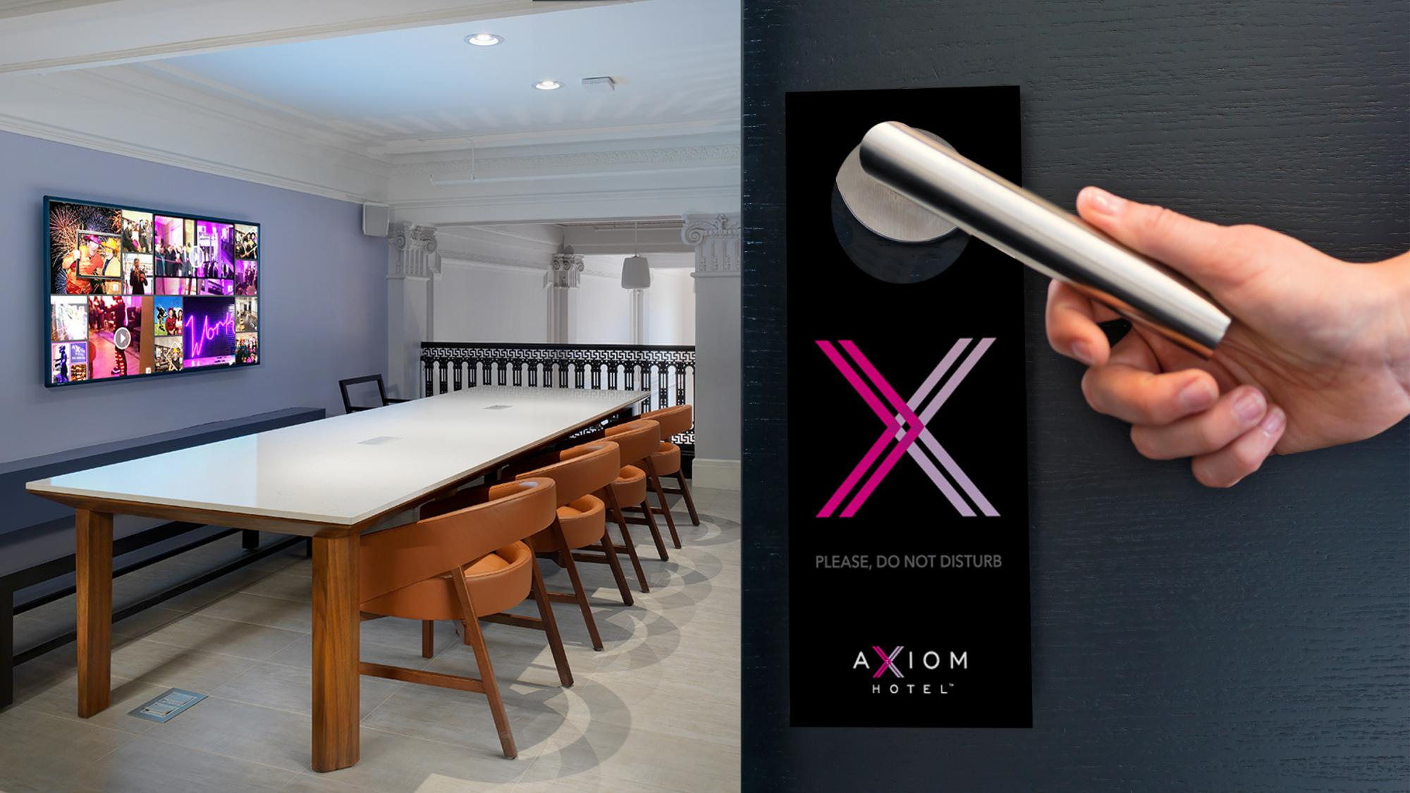 Axiom Door Hanger